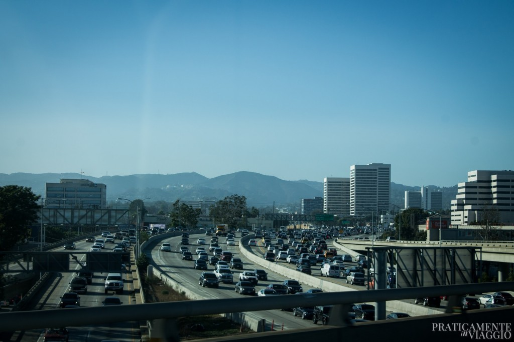 traffico a los angeles