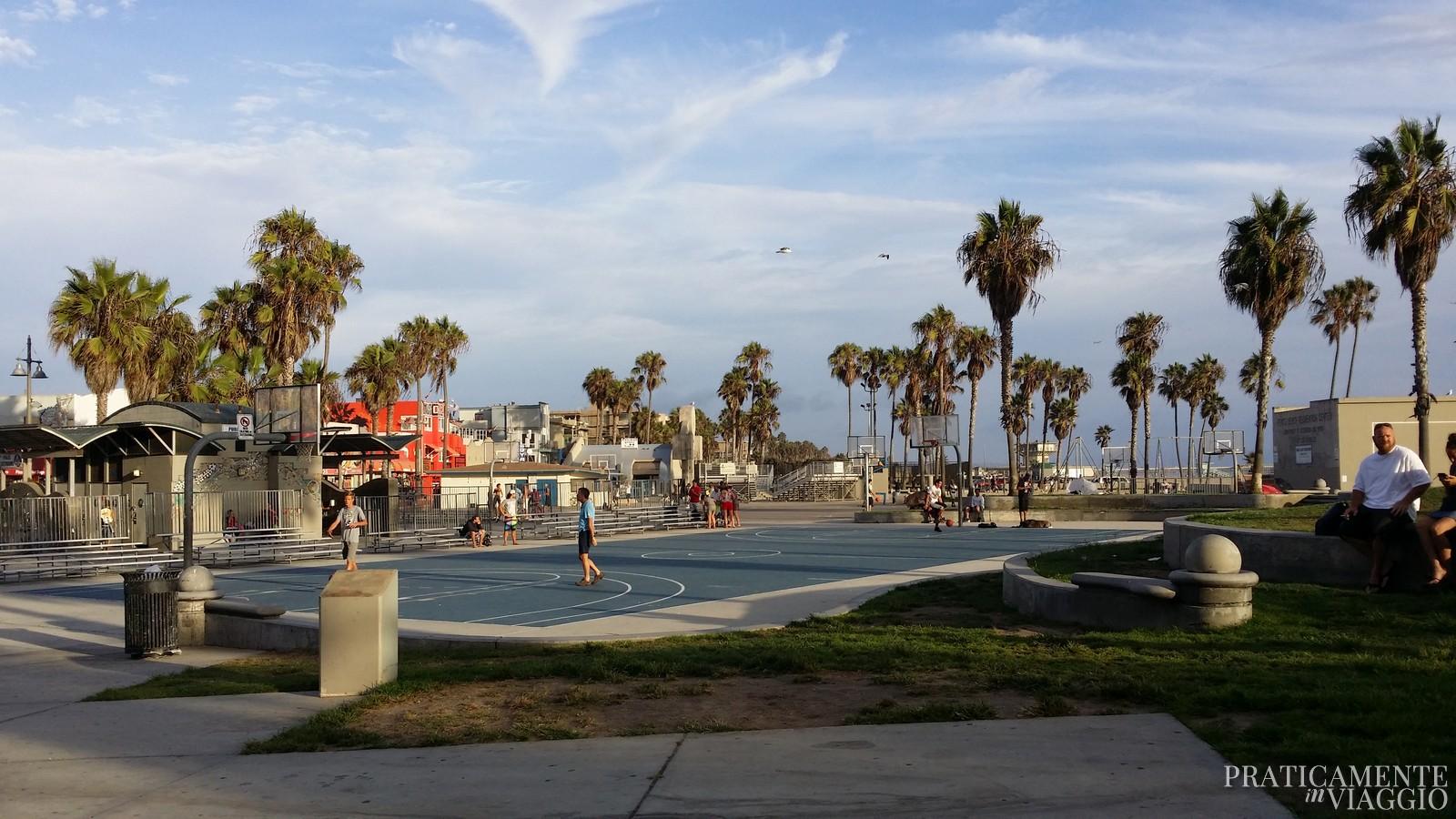Basketball a Venice beach