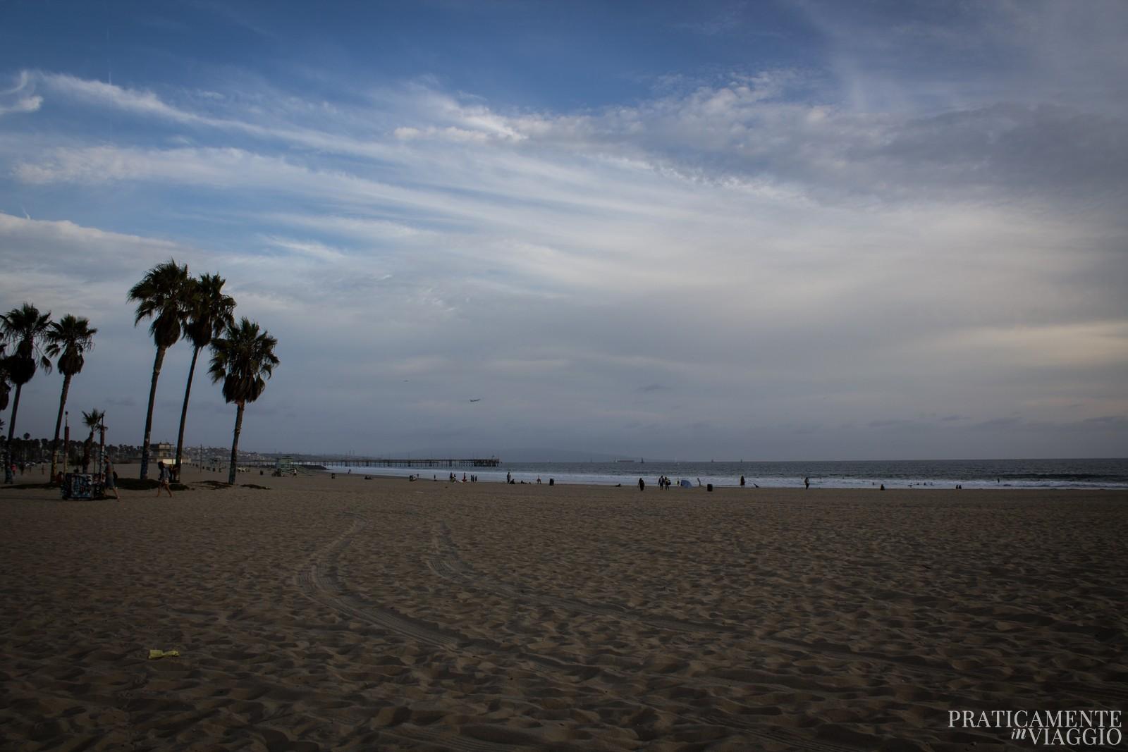 la spiaggia di Venice Beach