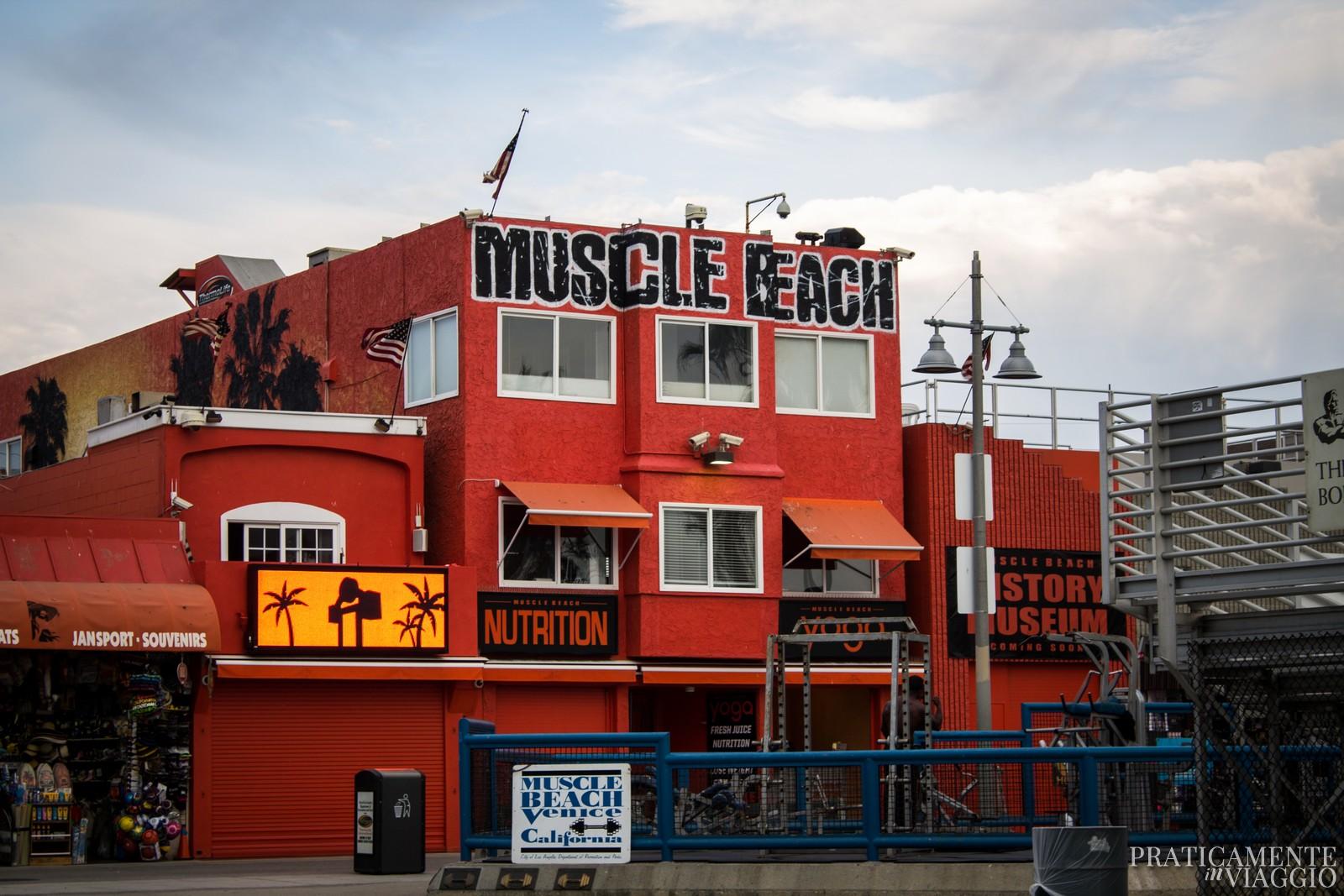 Muscle beach a Venice beach