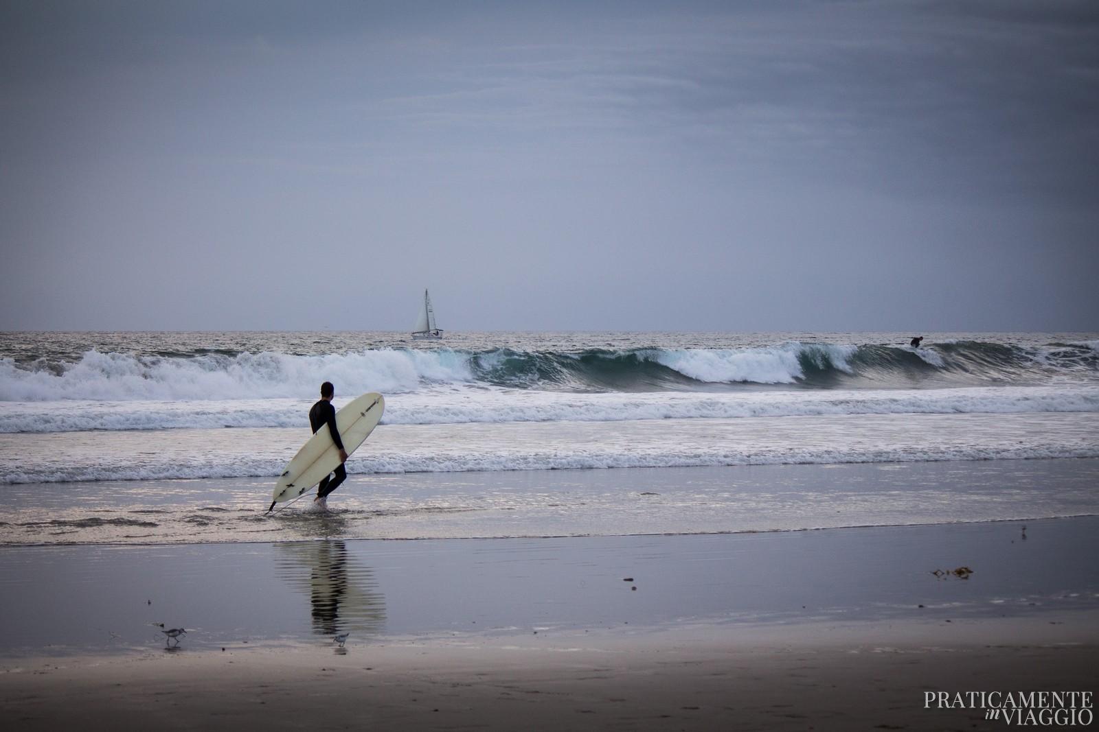 Surfista a Venice Beach