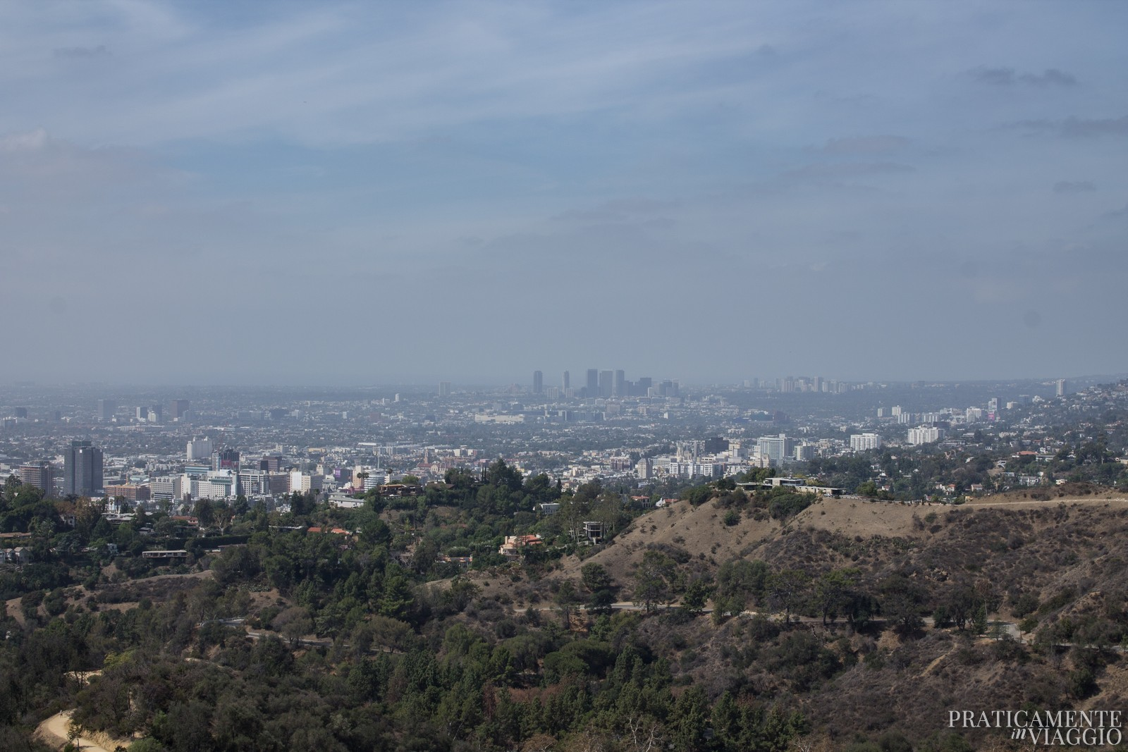 Vista su Los Angeles dal Griffith Park