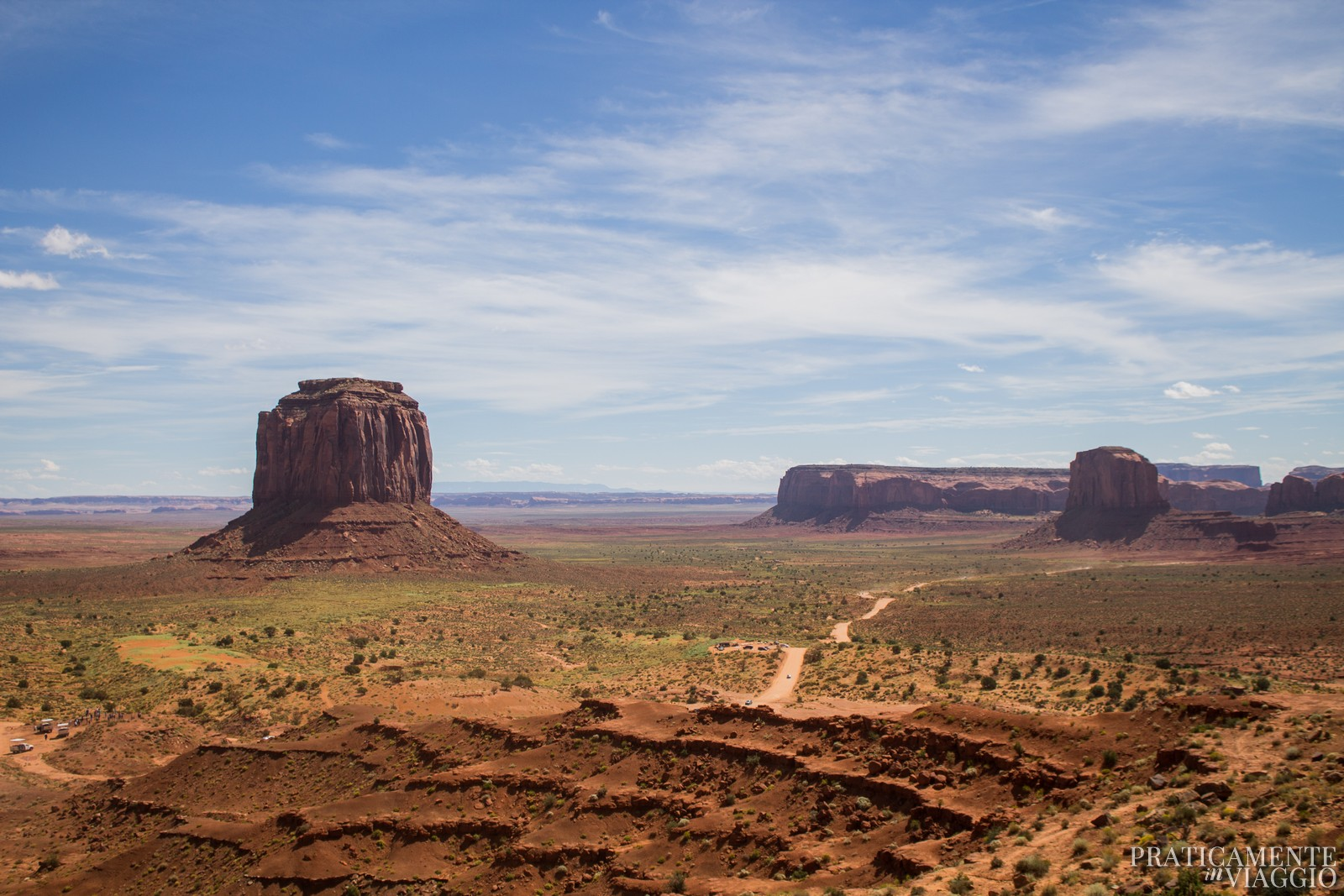 Monument Valley dall'alto