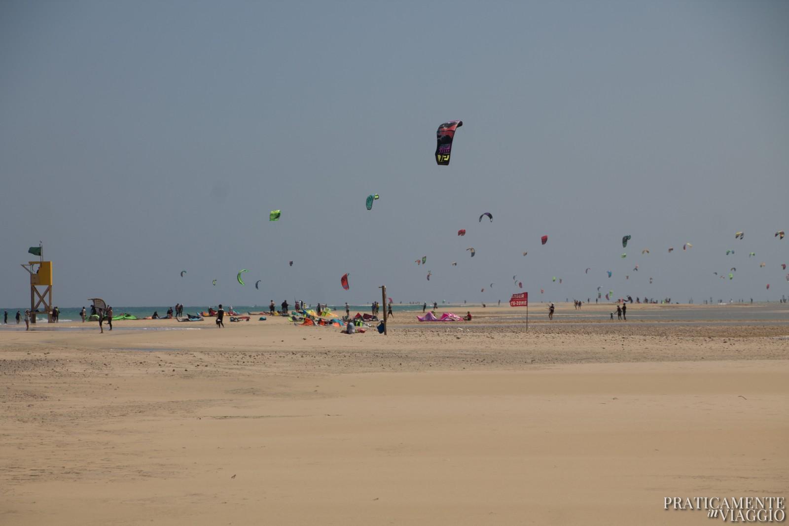 Kitesurfing a Fuerteventura
