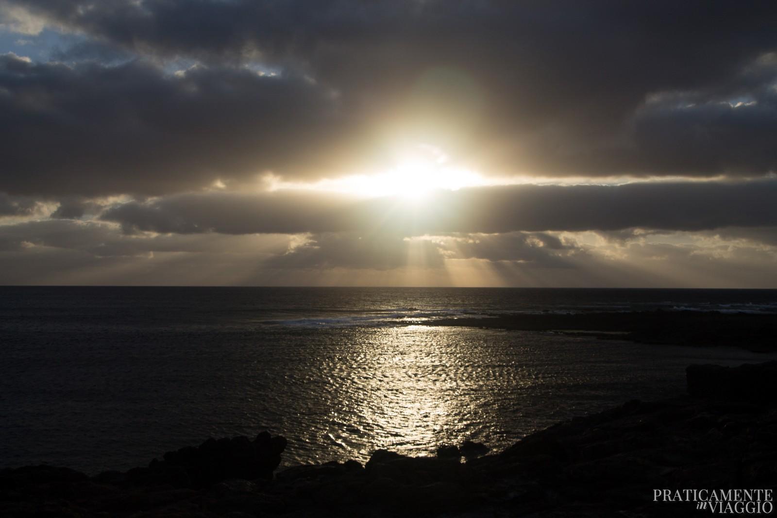 Tramonto al Cotillo Fuerteventura