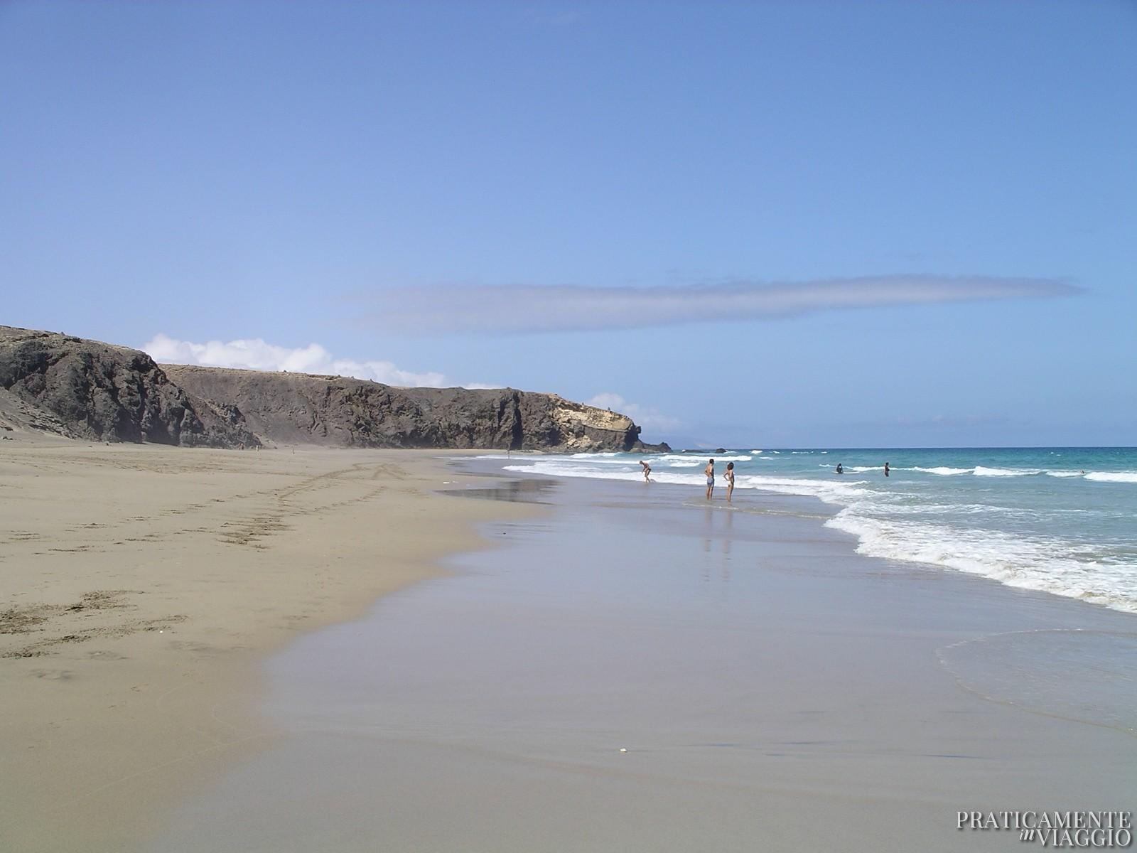 La pared spiagge fuerteventura