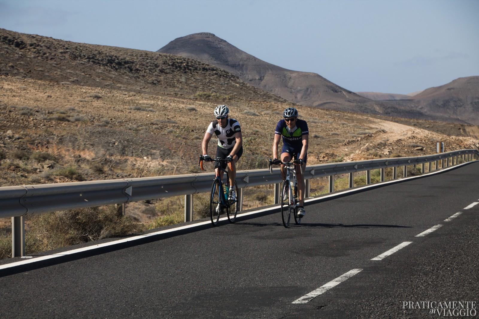 Biking a Fuerteventura