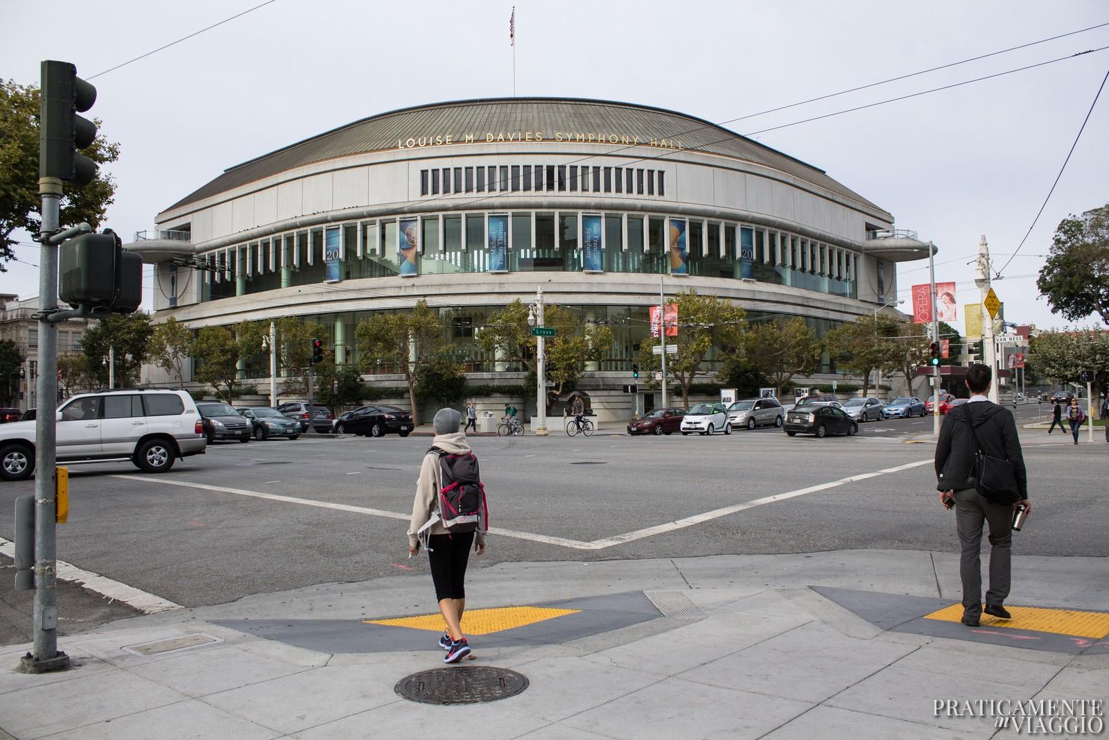Civic Center san francisco downtown